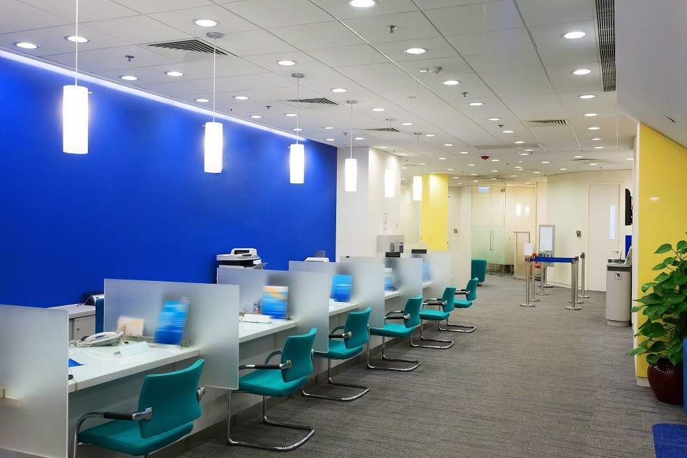 office electric wire for potlight installation - Commercial Electricians Toronto