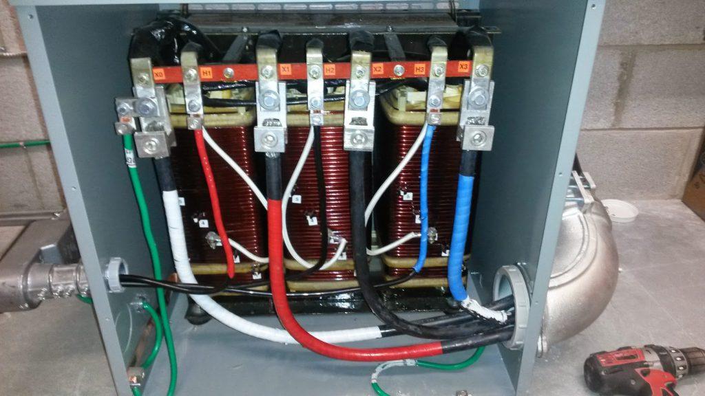 Commercial Transformer Installation
