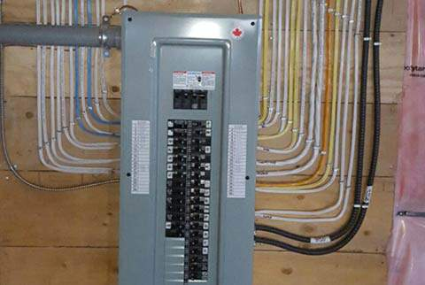 Electric Panel Installation by On-Time Electric - Residential Electricians Vaughan